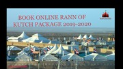 BOOK ONLINE RANN OF KUTCH PACKAGE,  KUTCH RANN UTSAV FROM TTO