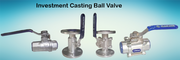 Investment Casting Ball Valve| Sight Glass Valve  Manufacturers in Ahm