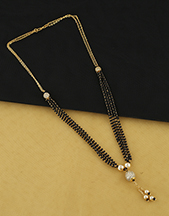 Shop for Small Mangalsutra Designs latest collection of mangalsutra.