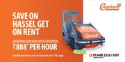 Road / Dust Sweeping Machine on RENT with Operator