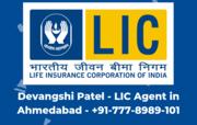 Devangshi LIC Agent Prahaldnagar Ahmedabad - 7778989101