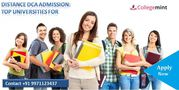 Distance DCA Admission: Top Universities For Distance DCA