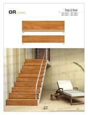 Vitrified Step Riser Tile Manufacturer | Or Ceramic