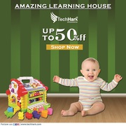 Techhark Learning House | Attractive and Colorful Educational Toy