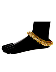 Buy Anklets Design Online For Girls &  Bridal Payal by Anuradha Art