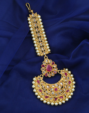 Check out the Collection of Rajasthani Borla Maang Tikka