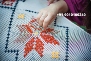 Enjoy Learning Embroidery At Home With Hamstech Online