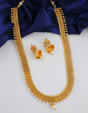 Buy now long haram designs necklace at best price