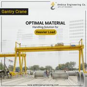 Leading Gantry Crane Manufacturing Company