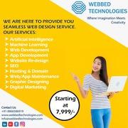Web Development | App developer | SEO services - Webbed technologies
