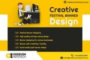 Creative Festival Banner Design Services in India