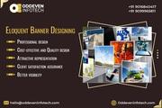 Expressive Banner design Services | Oddeven Infotech