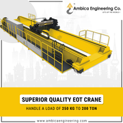 Best EOT Crane Manufacturer in India