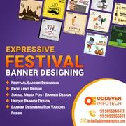 Festival Banner Design Services in India
