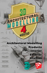 3D Architectural Modelling Course – Beginner to Advanced Journey