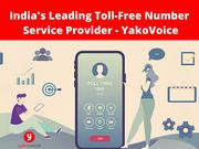 India's Leading Toll-Free Number Service Provider - YakoVoice