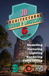Architecture Exterior Rendering and Landscape Design Courses online -