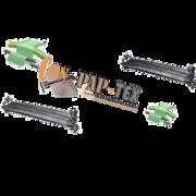 3 Curve Bar Expander Rolls,  Wrinkle Removing Roll