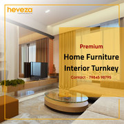 Home Furniture & Interior Turnkey Projects in Ahmedabad - Heveza