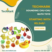 Techhark Sounding Chu-Chu Bath Toys