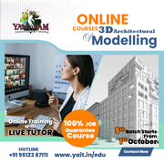 3D ARCHITECTURAL MODELLING ONLINE COURSE