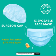 Buy Disposable Face Mask and Surgeon Cap Online at Gujarat Shopee