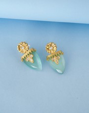Explore Kundan Earrings Designs Online from Anuradha Art Jewellery