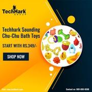Techhark Sounding Chu-Chu Bath Toys