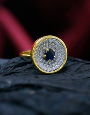Explore Collection of American Diamond Ring Online at Best Price.