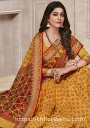 Buy Printed Sarees For Womens Online India