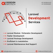Laravel Web Application Development Services | OddevenInfotech
