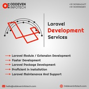 Excellent Laravel Development Services in India | Oddeven Infotech