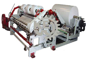 Butter Paper Slitter Rewinder Machine | Slitting Rewinding Machine Man