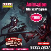 Animation Literacy Program in just Rs. 999