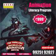 Animation  literacy Program in just Rs. 999 - Arena Anand