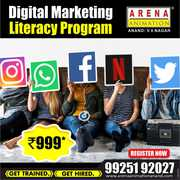 DigitalMarketing  literacy Program in just Rs. 999 - Arena Anand