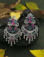 Buy Oxidised Earrings Online at Best Price by Anuradha Art Jewellery