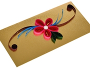 Best Design Money Cover Envelope Golden Color Aadhi Creation