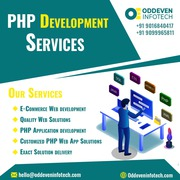 Outstanding PHP Development Services in India | Oddeven Infotech
