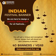Professional HD Festival Banner Design Services in India
