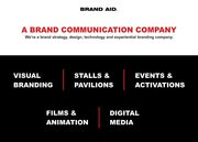 Brand Communication Company Ahmedabad-Brand Aid
