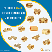 Precision Brass Turned Components Manufacturer in Jamnagar India