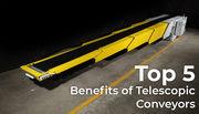Telescopic conveyor | Telescopic Belt Conveyors | NIHVA