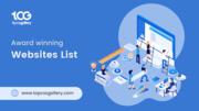 Best award winning websites list