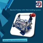 Rewind Trolley with Web Guiding System