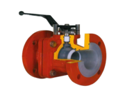 Lined Checked/ PTFE Lined Ball Valves Manufacturer in India