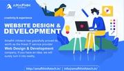 Website design & Development from Amafhh infotech