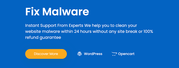 How to fix malware with a manual process?
