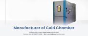 Cold Chamber at Best Price By Kesar Control