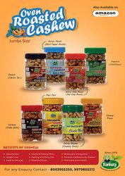 Roasted Masala Cashew,  Mamro Almond Badam Manufacturers India